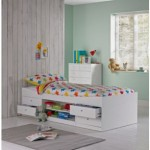 Single Kids Cabin Bed Frame