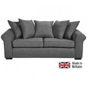 Pillowback Sofa - Charcoal