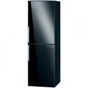 Black Slim Fridge Freezer